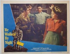 He Walked By Night 1948 DVD - Richard Basehart